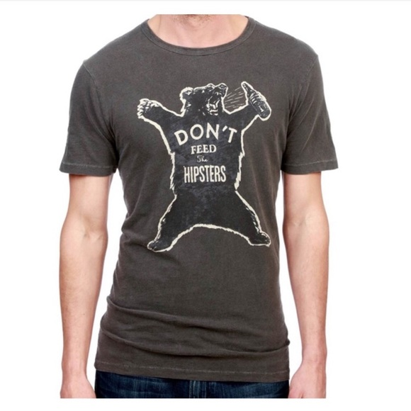 Lucky Brand Other - Lucky Brand 🔔 Dont Feed the Hipsters Tee M G334